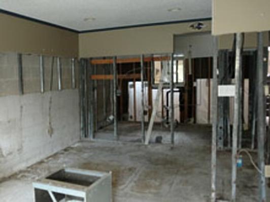 Damaged Floor Reconstruction - Ocean City, MD